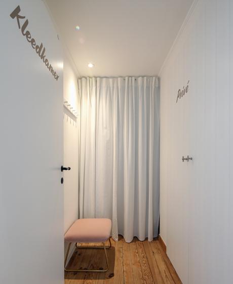 Sarasin Clinic kleedkamer